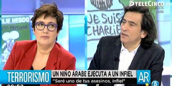 """Arcadi Espada abronca a Montserrat Domínguez: """"Tu conocimiento sobre el mundo islámico es deficiente"""""""