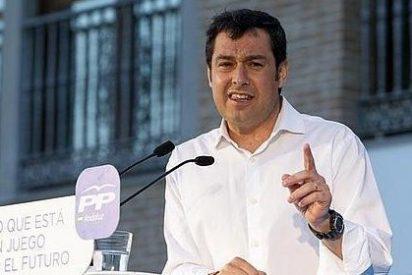 La baza del PP para la campaña de Moreno tiene nombre de mujer