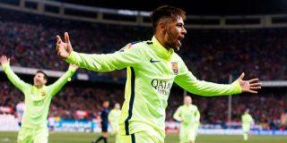 Neymar se consagra en el Calderón en un partido lleno de polémica arbitral y 'navajismo' entre jugadores
