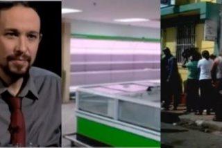 La cara que Podemos no quiere mostrar del chavismo: once detenidos por fotografiar colas en los supermercados
