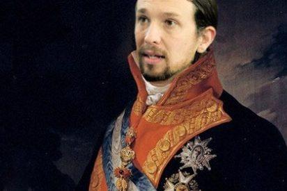 Pablo Iglesias copia a Fernando VII cuando propone no pagar la 'deuda ilegítima'