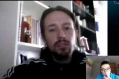 [Vídeo] La entrevista más rara a un Pablo Iglesias que luce al más puro estilo 'choni'