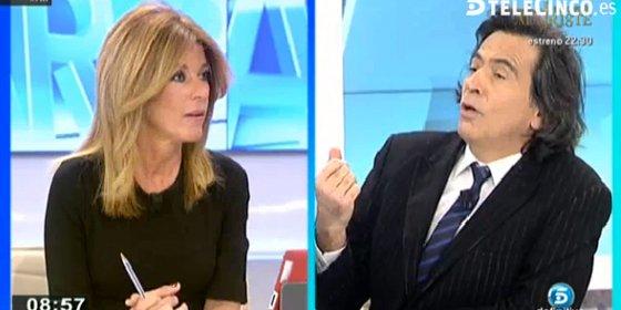 Arcadi Espada vuelve a tenerlas tiesas con Palomera a cuenta de Podemos