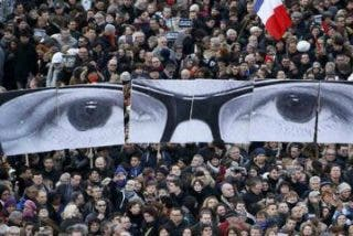 """""""Yo soy Charlie"""": París se queda afónico con su grito contra el terror yihadista y por la libertad"""