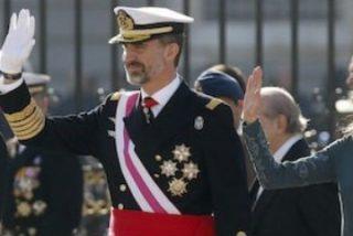 """El Rey alaba al Ejército español y define su papel como monarca: """"Mandar es servir y no habrá día en el que deje de recordarlo"""""""