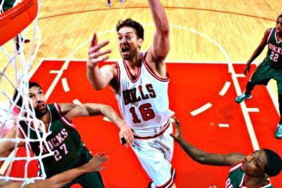 Pau Gasol bate su récord anotador en la NBA en la victoria de los Bulls