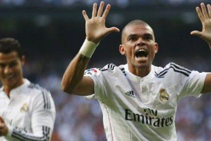 ¡Pepe agredió a un jugador del Valencia!