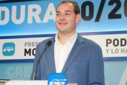 """El portavoz del PP, Ramírez, cree que """"el PSOE no le está diciendo un NO rotundo al PP sino a todos los extremeños"""""""