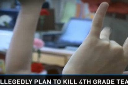 ¡Así está el patio! 3 niños de 9 años iban a asesinar a su profesor con desinfectante por haberles reñido