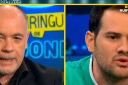 """Quim Domènech se mofa de Alfredo Duro tras la derrota del Madrid: """"Desde que has entrado a este plató sólo lloras"""""""