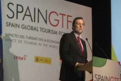 Rajoy anuncia en el Spain Global Tourism Forum que el gasto de los extranjeros en España en 2014 fue de 63.000 millones