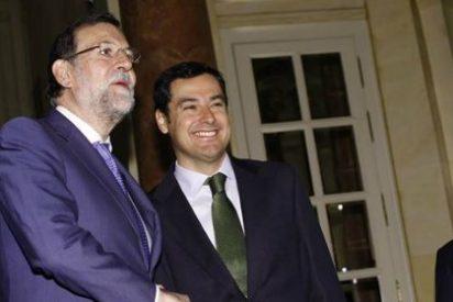 """El presidente del Gobierno, Mariano Rajoy, cree que """"Susana Díaz utiliza Andalucía como trampolín"""""""