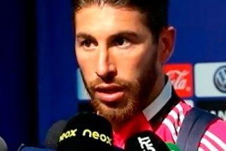 """Sergio Ramos muestra su cabreo con el árbitro: """"Cada vez me gusta más la Premier"""""""