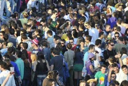 Las inacabables campanadas 'rave' de Nochevieja en Valencia que dejan sorda a la cordura