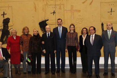 Los Reyes presiden la inauguración del Museo Universidad de Navarra