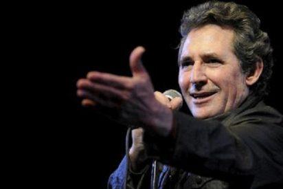 Miguel Ríos canta clásicos del rock en el Teatro Real junto a la Banda Sinfónica Municipal