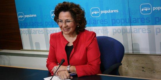 """Carmen Riolobos: """"La confianza que dan al PP se debe a la estabilidad"""""""