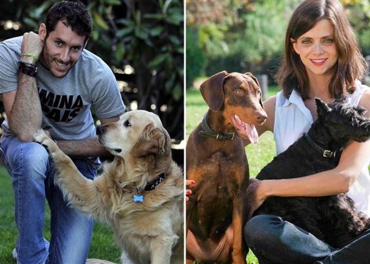 Rudy Fernández, Jordi Cruz o Macarena Gómez posan con sus mascotas para San Antón