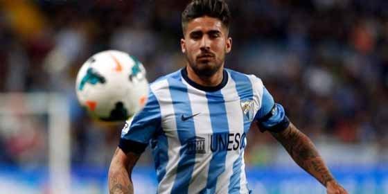 El futbolista del Málaga asegura que estuvo cerca de fichar por el Chelsea