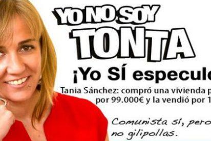 El PP le da para el tinte de pelo a Tania Sánchez: querella criminal por malversación, tráfico de influencias y prevaricación