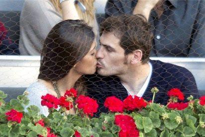 Casillas se desmadra con Sara Carbonero en Nochevieja