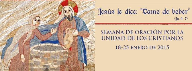 Verbo Divino, en la semana de oración por la unidad de los cristianos
