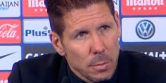 """Palo de Simeone a las excusas del Madrid de caer en Copa: """"Siempre es mejor pasar a cuartos que quedarse en octavos"""""""
