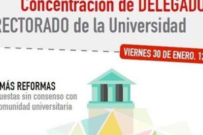Sindicatos convocan concentraciones contra la reforma de los grados universitarios