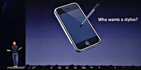 Apple patenta un bolígrafo inteligente que simula a la perfección la escritura a mano