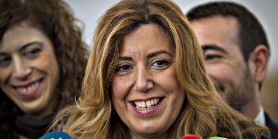 Susana Díaz comunica a IU el adelanto de las elecciones andaluzas a marzo de 2015