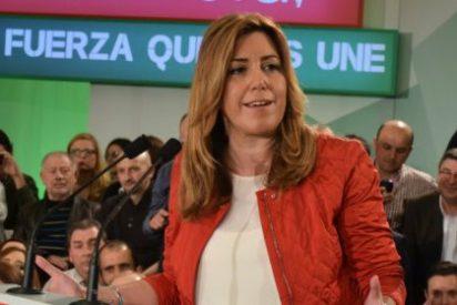 """Susana Díaz: """"Málaga es una ciudad que mira al futuro y que se merece una alcaldesa como María Gámez"""""""