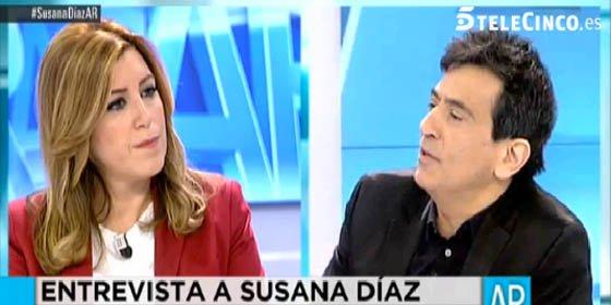 """Arcadi abronca a Susana Díaz: """"Habla como un nacionalista más, echando las culpas de todo al Gobierno, y alguna 'irresponsabilidad' tendrán ustedes"""""""