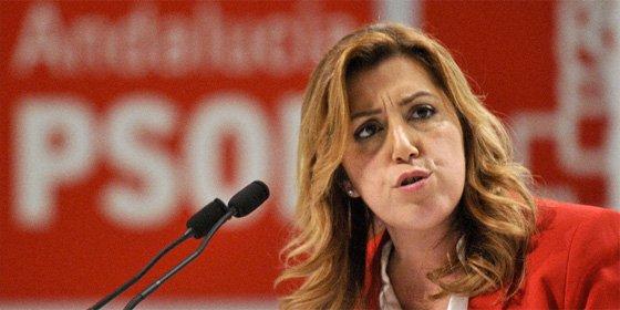 """Susana Díaz: """"El único tren que tengo intención de coger es el de Andalucía"""""""