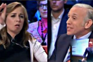 Marhuenda e Inda se alían para darle a Tania Sánchez una mano de palos en 'La Sexta Noche'