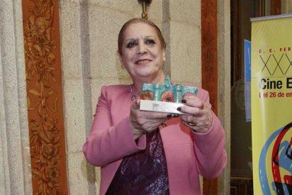 Terele Pávez recibe el premio 'Puerta de Toledo' por toda una vida dedicada al cine