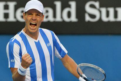 El checo Berdych elimina a Nadal en cuartos de final del Open de Australia