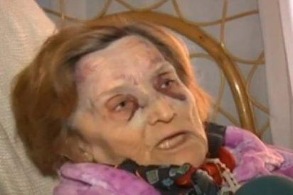 El vídeo de la anciana a la que han dado una brutal paliza en Valencia para robarle 30 euros