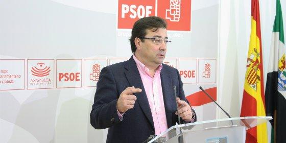 """Fernández Vara (PSOE): """"Monago ha mentido a los extremeños con la deuda histórica"""""""