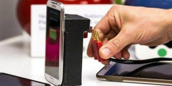 Adiós a los 'cortes': llega un sistema que carga la batería de los 'smartphones'... ¡en tan solo dos minutos!