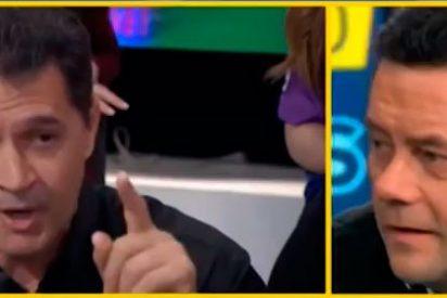 """Rapapolvo de un invitado del público a Roncero: """"La campaña que habéis hecho el AS, Relaño y tú para pitar a CR7 y no a Iker os ha salido mal"""""""