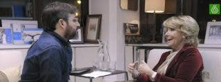 [Vídeo] Así fue el épico final del duelo entre Esperanza Aguirre y un 'cortado' Évole