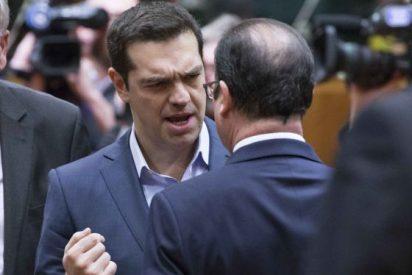 Tsipras sólo logra el respaldo de Chipre y Francia en la reunión del Eurogrupo