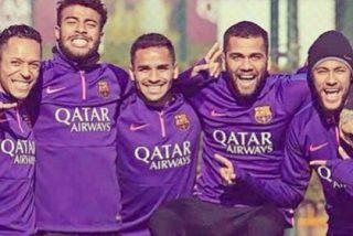 """Dani Alves da a entender en Instagram su posible marcha del Barça: """"Si me tengo que ir, será con una sonrisa"""""""
