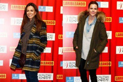Amelia Bono o Lydia Boch disfrutan como niñas en el estreno de 'Laribleando'