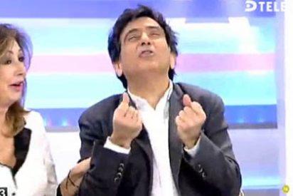 """Arcadi a Ana Rosa por la encuesta que da ganador a Sánchez: """"No voy a pensar que T5 es de izquierdas, y tu programa mucho menos…"""""""