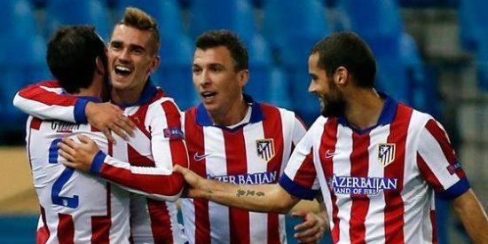 Serán los dos delanteros del Atlético ante el Madrid