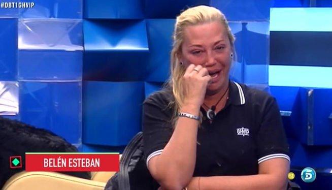 """'Sálvame' desvela, por 'error', que Belén Esteban es la más votada para irse de GH VIP mientras ella se hunde más: """"!Estoy muy sola!"""""""