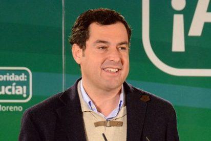 Moreno ataca al PSOE por querer pactar con Podemos y se olvida de la corrupción