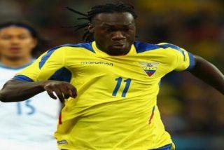 Caicedo pudo ser el delantero del Valencia