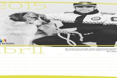 La Policía Local de Don Benito edita una segunda edición de su calendario solidario
